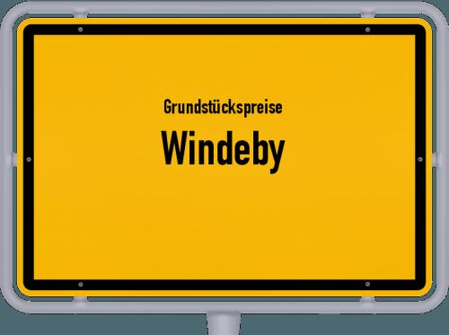 Grundstückspreise Windeby 2021