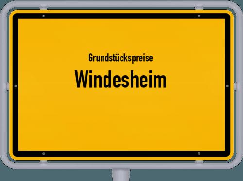 Grundstückspreise Windesheim 2019
