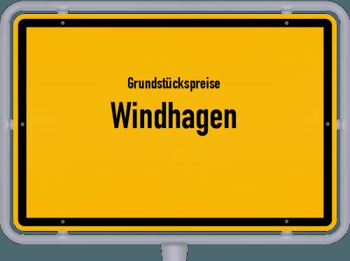 Grundstückspreise Windhagen 2019