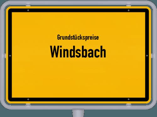 Grundstückspreise Windsbach 2019