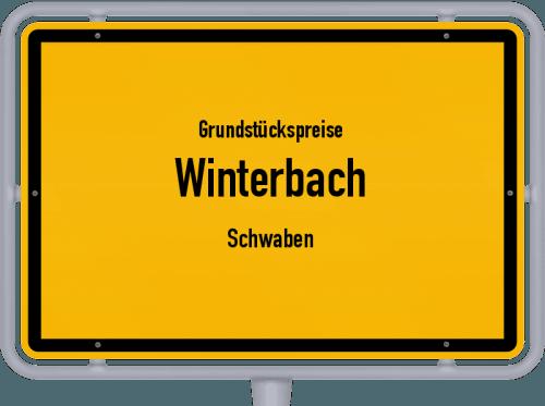 Grundstückspreise Winterbach (Schwaben) 2019