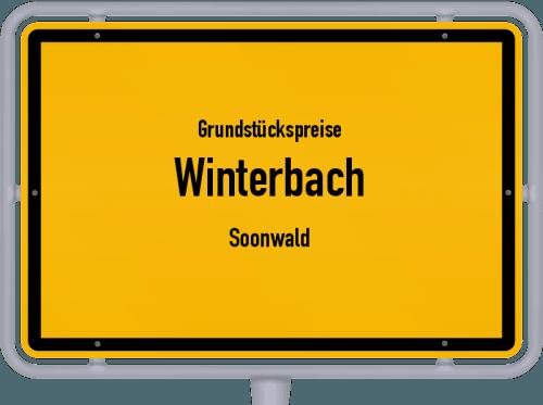 Grundstückspreise Winterbach (Soonwald) 2019