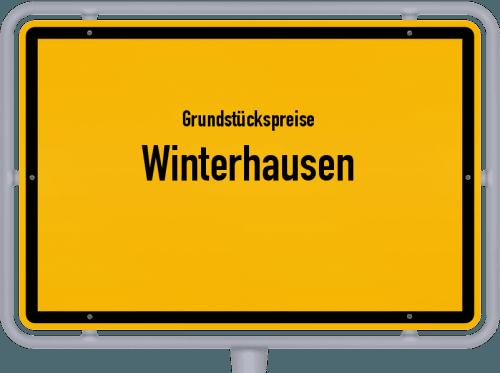 Grundstückspreise Winterhausen 2021