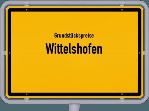 Grundstückspreise Wittelshofen 2019