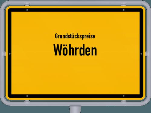 Grundstückspreise Wöhrden 2021