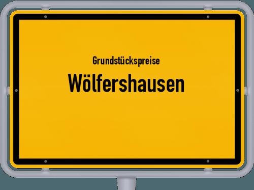 Grundstückspreise Wölfershausen 2019