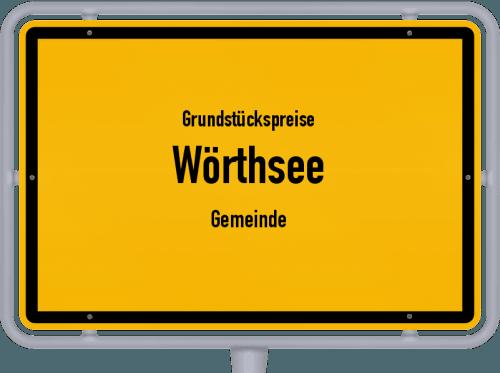 Grundstückspreise Wörthsee (Gemeinde) 2019