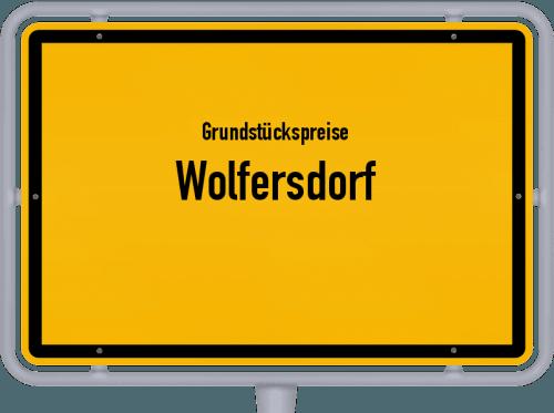 Grundstückspreise Wolfersdorf 2019