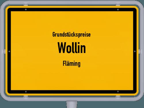 Grundstückspreise Wollin (Fläming) 2021