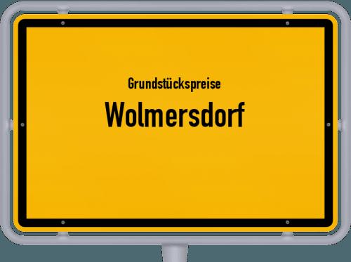 Grundstückspreise Wolmersdorf 2021