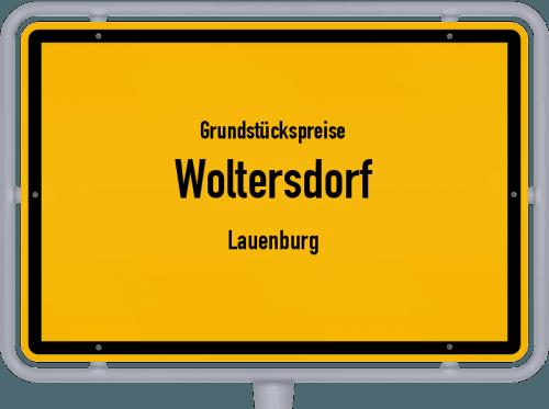 Grundstückspreise Woltersdorf (Lauenburg) 2021