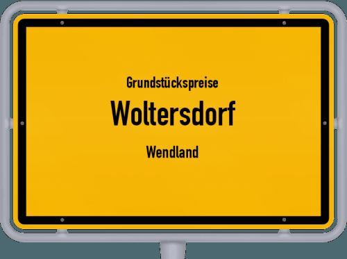 Grundstückspreise Woltersdorf (Wendland) 2019