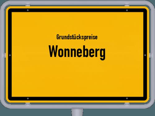 Grundstückspreise Wonneberg 2019