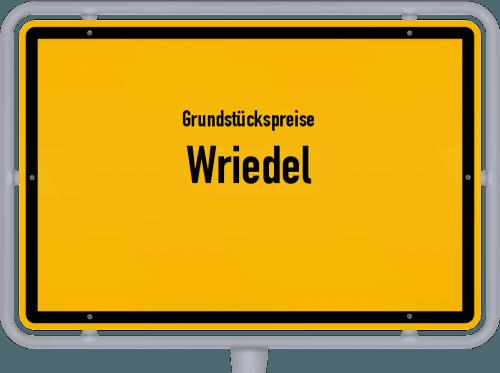 Grundstückspreise Wriedel 2021
