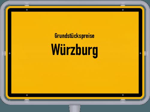 Grundstückspreise Würzburg 2021