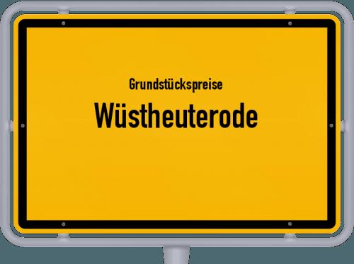 Grundstückspreise Wüstheuterode 2019