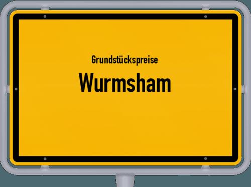Grundstückspreise Wurmsham 2021