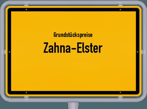 Grundstückspreise Zahna-Elster 2021