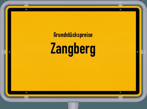 Grundstückspreise Zangberg 2019