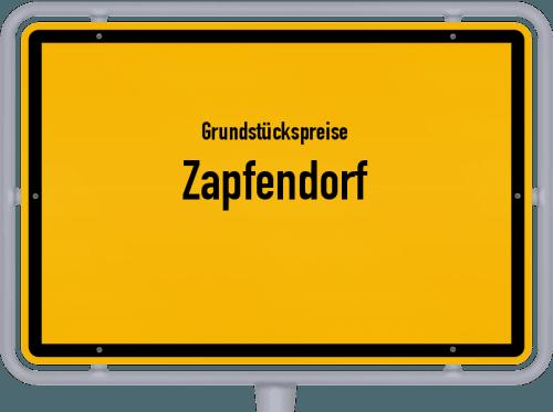 Grundstückspreise Zapfendorf 2019