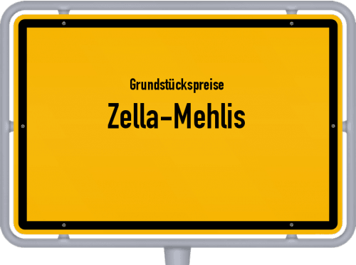 Grundstückspreise Zella-Mehlis 2019