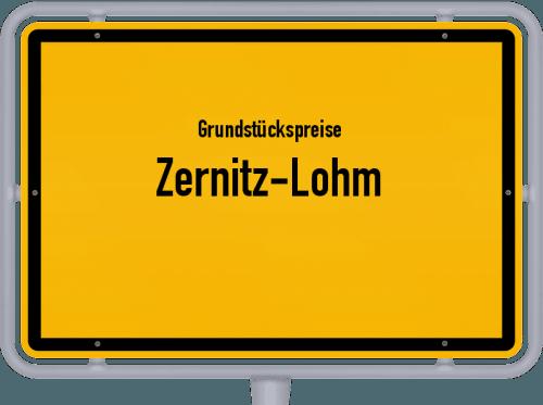 Grundstückspreise Zernitz-Lohm 2021