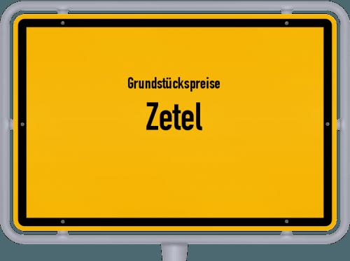Grundstückspreise Zetel 2019