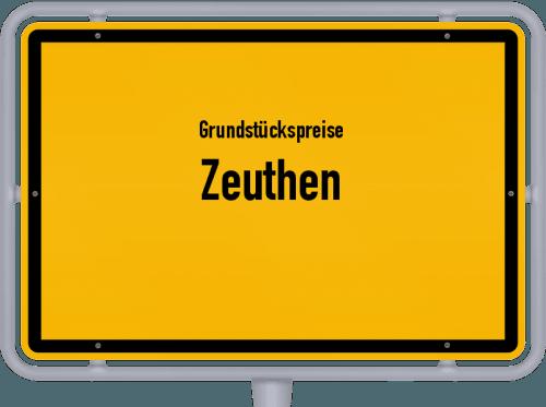 Grundstückspreise Zeuthen 2021