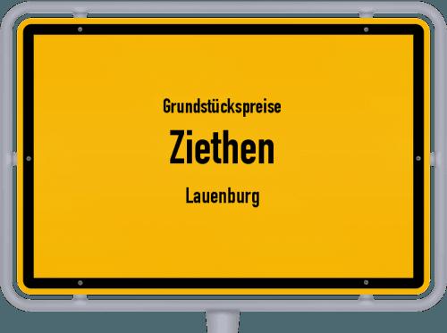 Grundstückspreise Ziethen (Lauenburg) 2021