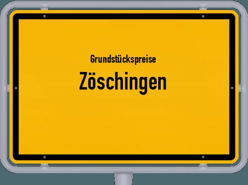 Grundstückspreise Zöschingen 2021