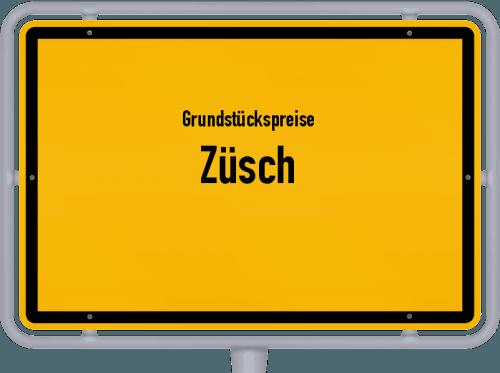 Grundstückspreise Züsch 2019