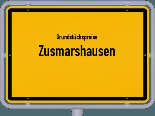 Grundstückspreise Zusmarshausen 2019