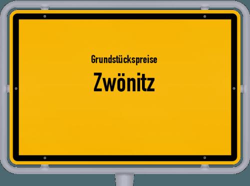 Grundstückspreise Zwönitz 2019